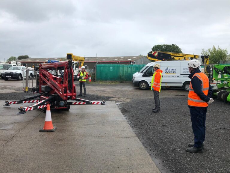 IPAF Training with Warren Access - ensuring you are competent to work at height