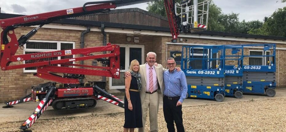 Jim's last sale - Warren Access add Hinowa spider lift to fleet