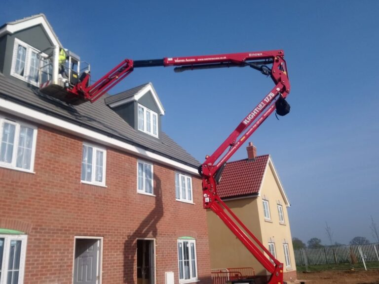 Warren Access spider lift - complying to the work at height regulations