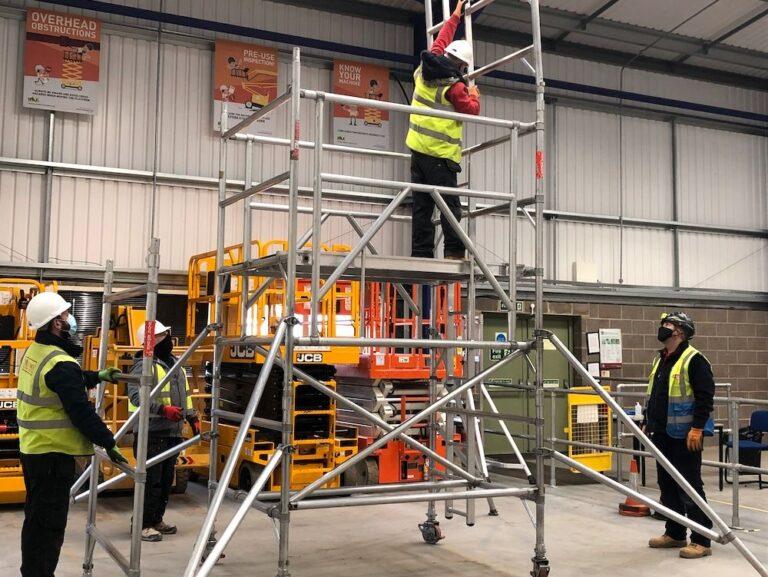 Warren Access mobile scaffold tower training