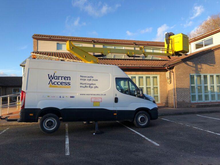 Ascendant van mounted platform - Warren Access