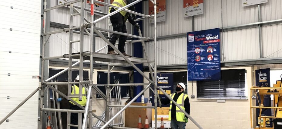 Hazards associated with mobile access towers and how to avoid them with PASMA training