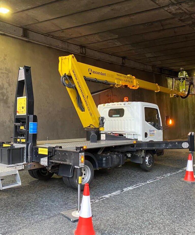 Highway Maintenance - 18m Ascendant Truck Mounted Platform