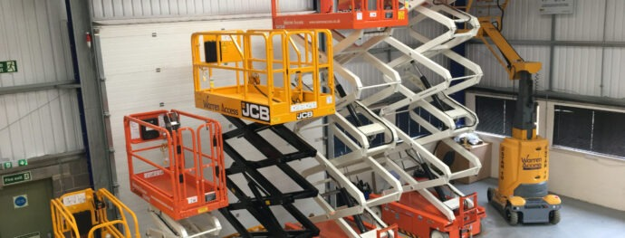 Warren Access - powered access hire, hire fleet, scissorlifts