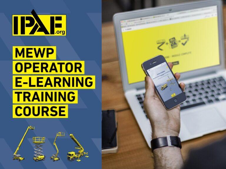 IPAF MEWP Operator eLearning Advert