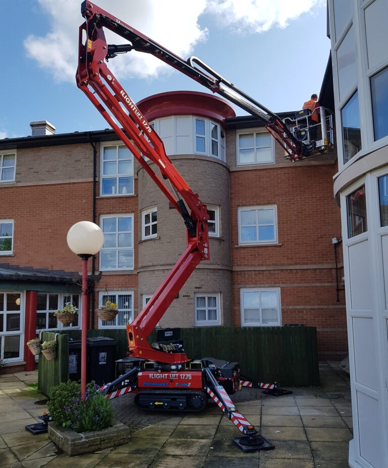 Difficult Access - 17m Hinowa Lightlift 1775 Tracked Platform
