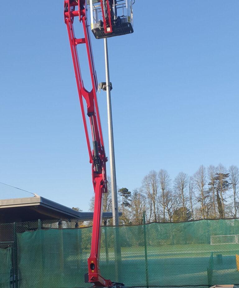 Light repair & Maintenance - Hinowa 1775 Tracked Platform