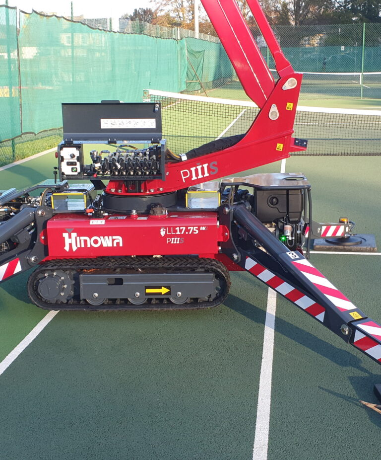 Tennis Court - 17m Hinowa Lightlift Tracked Boom Lift