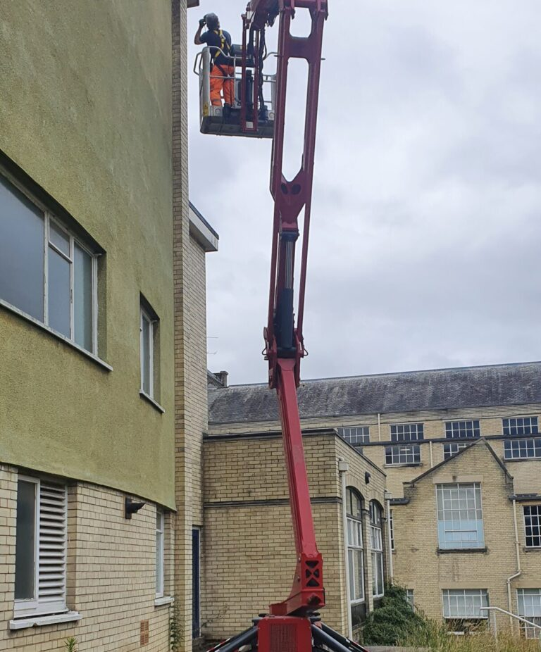 Narrow Access - 17m Hinowa Lightlift Tracked Access Platform
