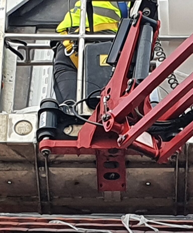 New Build Window Repair - Hinowa 1775 Tracked Machine