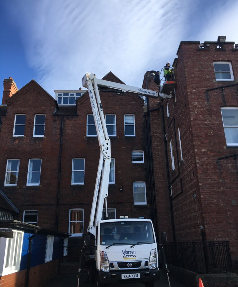 Roof Repair - 23m Isoli Truck Mounted Platform