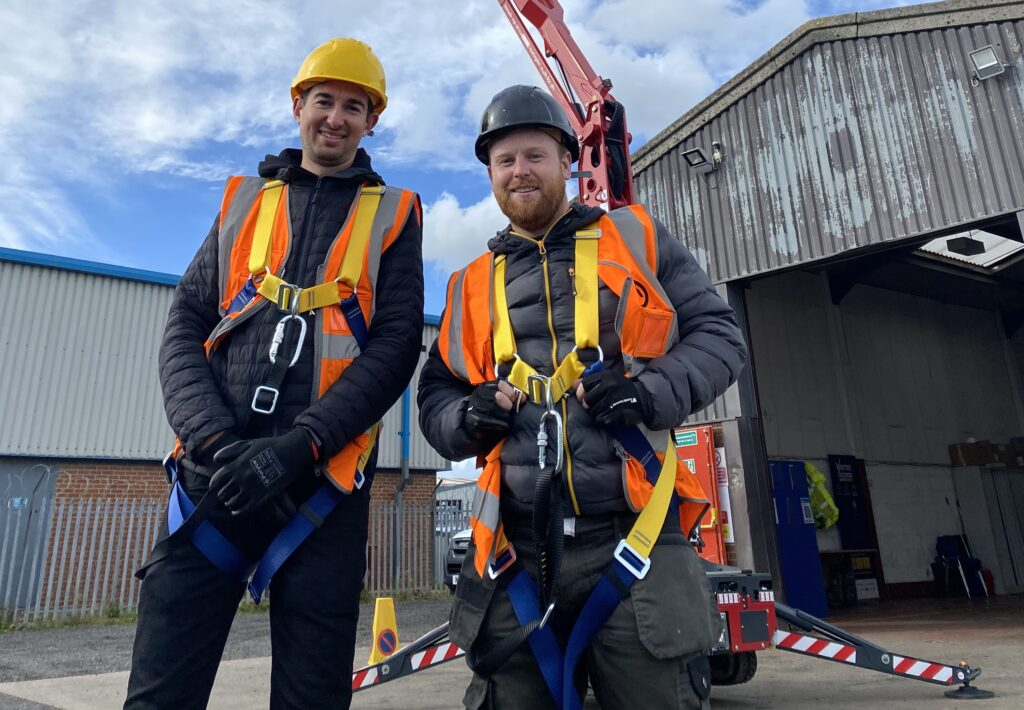IPAF Training Practical candidates - Warren Access Newcastle
