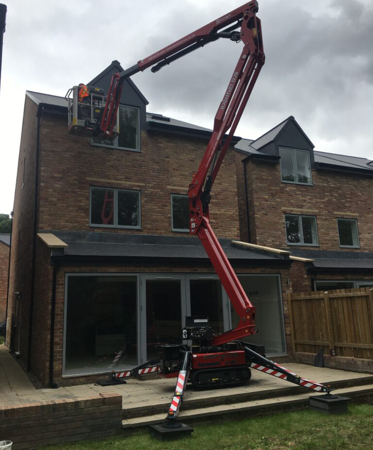 Back Garden - 17m Hinowa Lightlift Tracked Access Platform