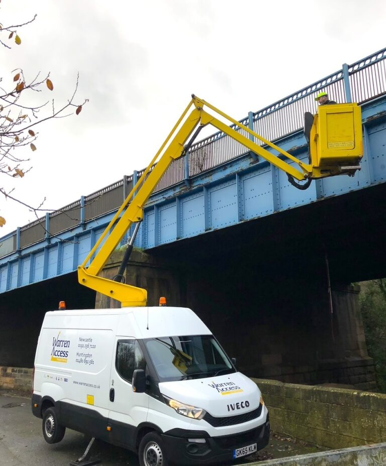 Repairs - 12.5m Ascendant Van Mounted Platform