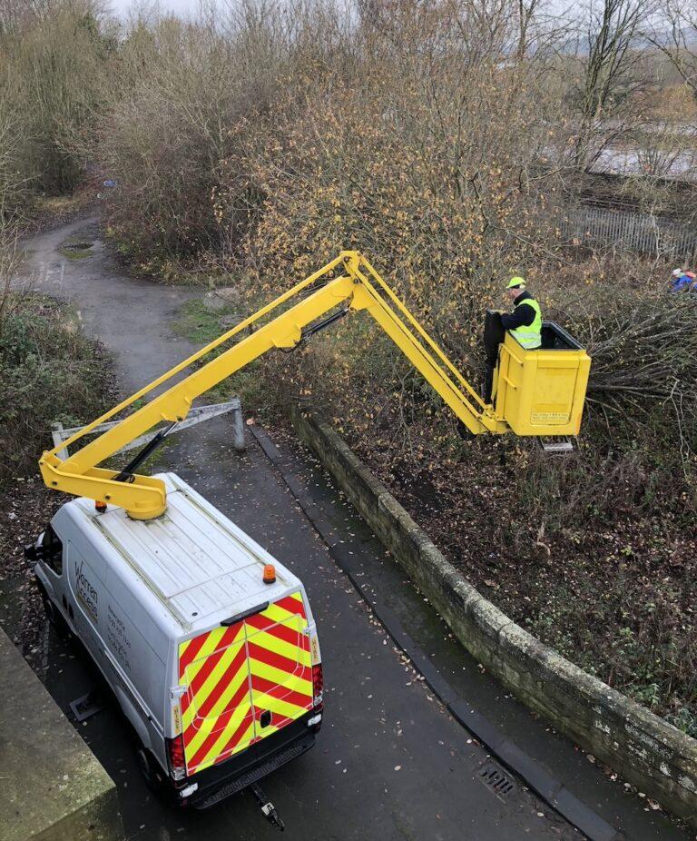 Tree Work - 12.5m Ascendant A12.5VM Van Mounted Platform