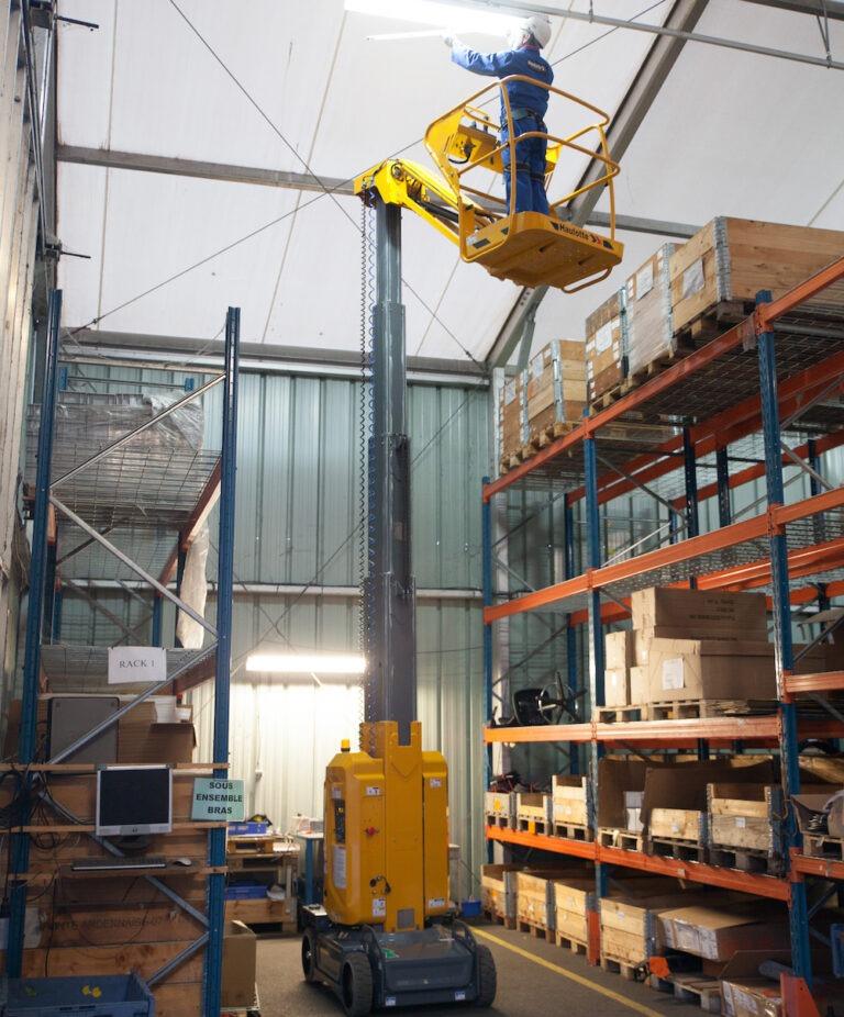 Warehouse - Haulotte Star10 - Electric Vertical Boom Lift