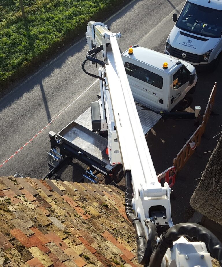 Boom view - 21m CTE 21.3JHL Truck Mounted Access Platform