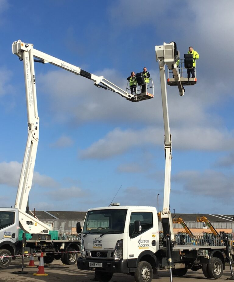 Working at Height - 20M Isoli PNT 205NH Truck Mounted Platform