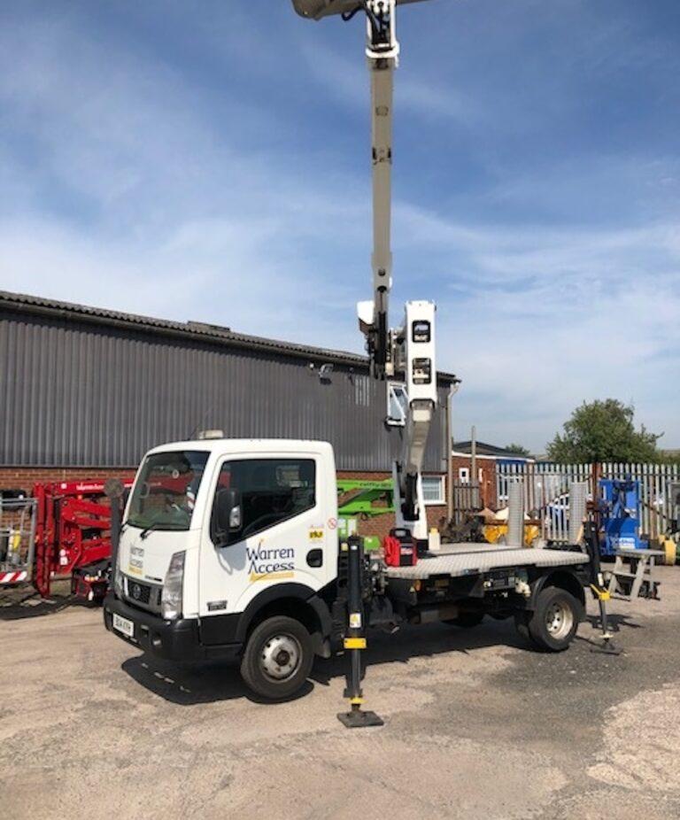 Footprint - 20M Isoli Truck Mounted Access Platform