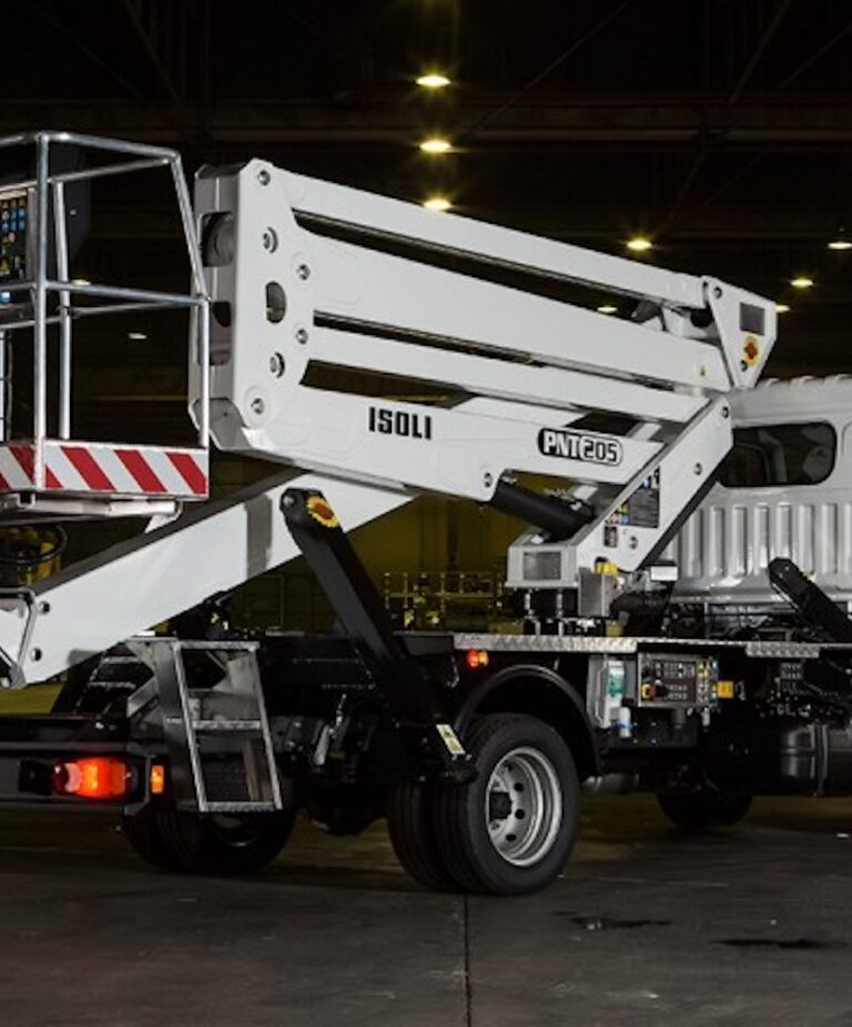Full view - 20M Isoli PNT 205NHT ruck Mounted Platform