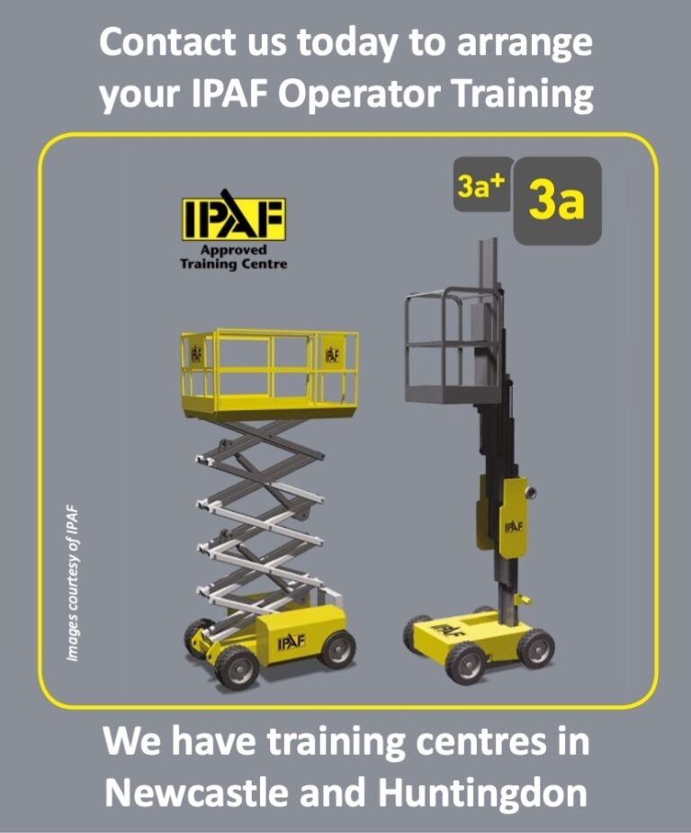 IPAF 3a (Vertical) Scissor Lift Training