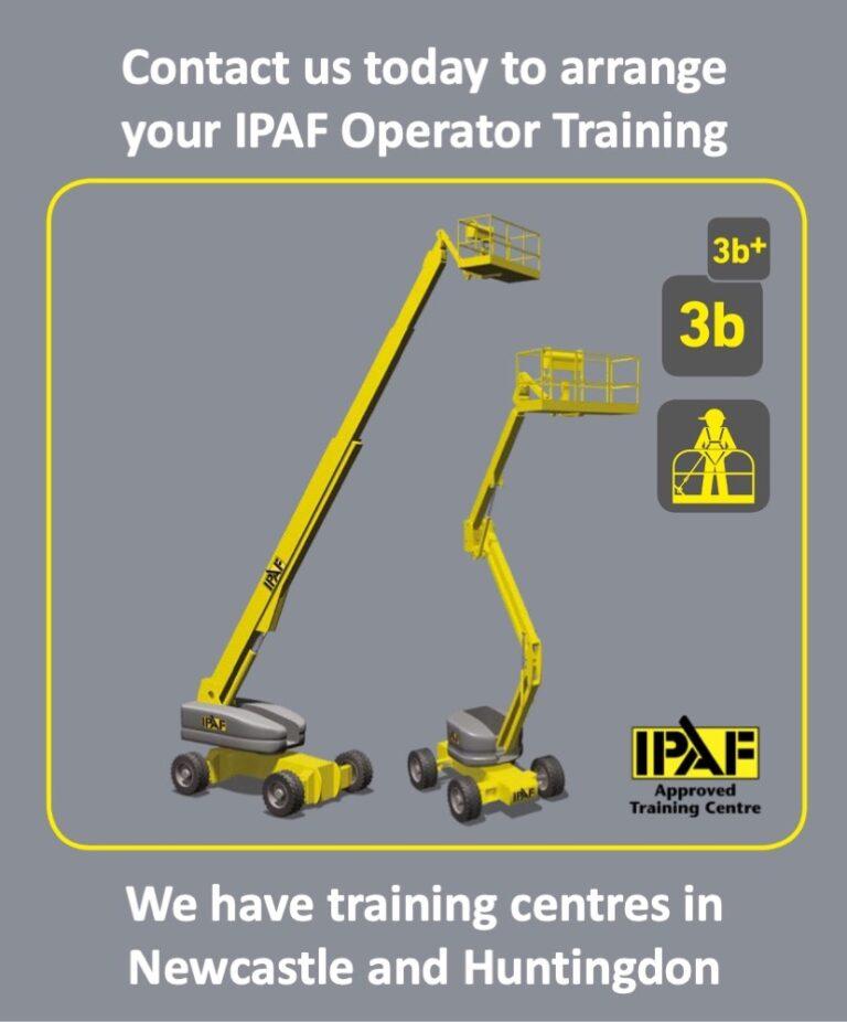 IPAF 3b (Mobile Boom) Scissor Lift Training