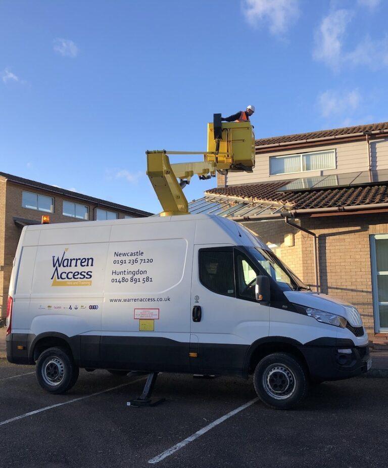 Maintenance Repairs - 12.5m Ascendant Van Mounted Platform