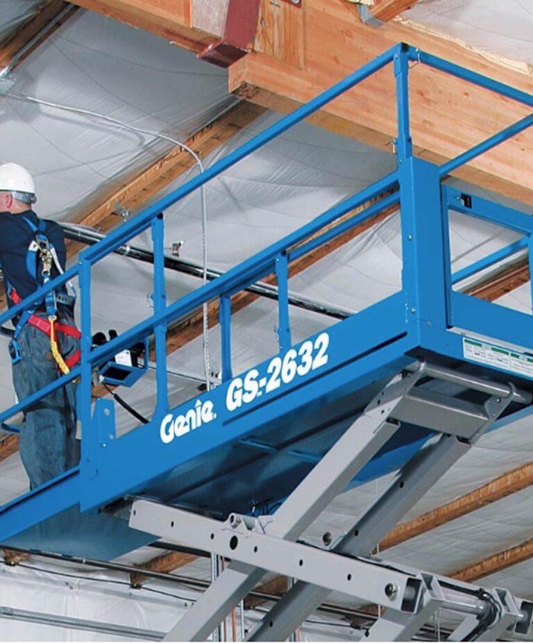 Maintenance - 9.9m Genie 2632 Narrow Electric Scissor Lift
