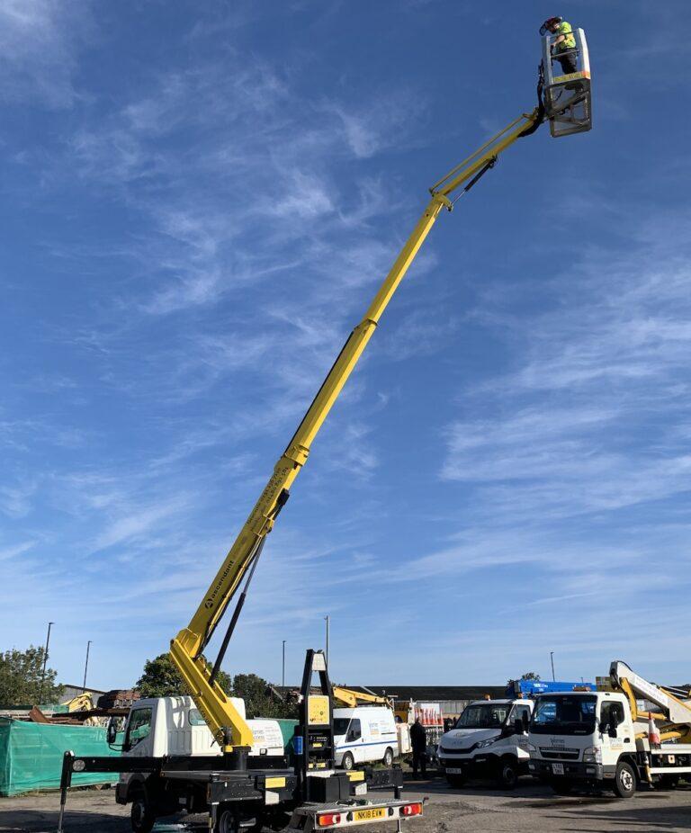 IPAF 1b Training Truck Mount