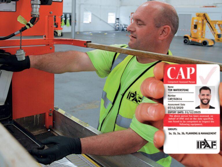 IPAF CAP Training