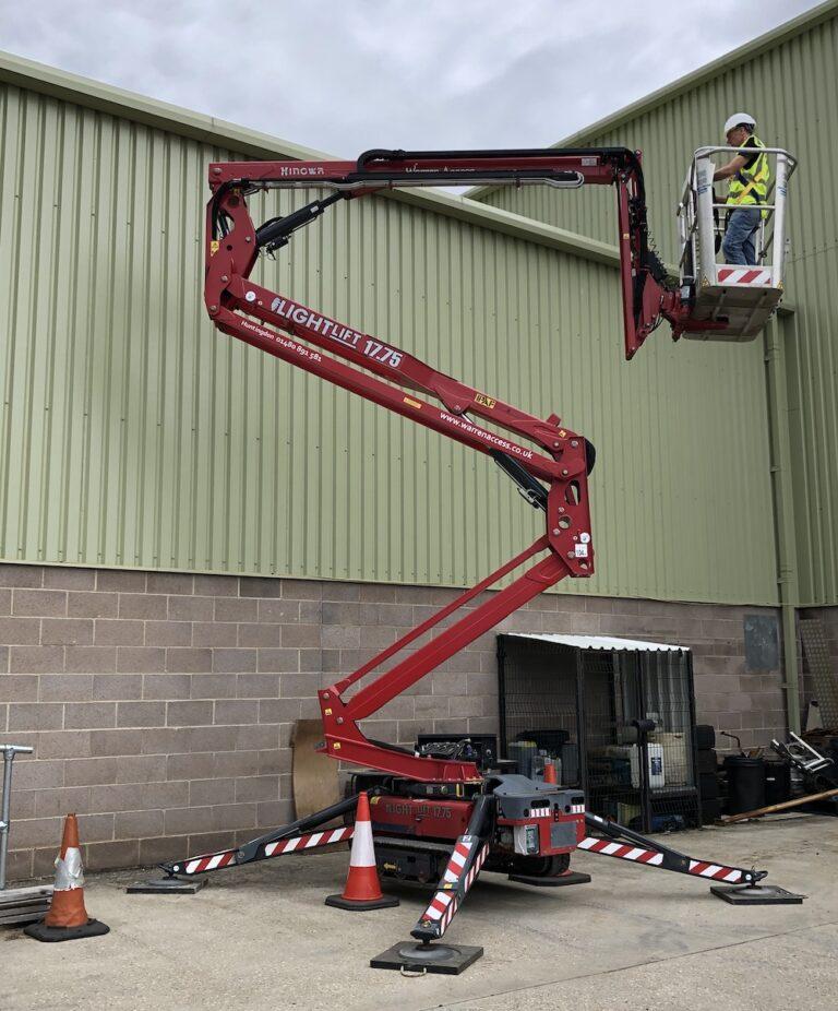 IPAF Training 1b Spiderlift
