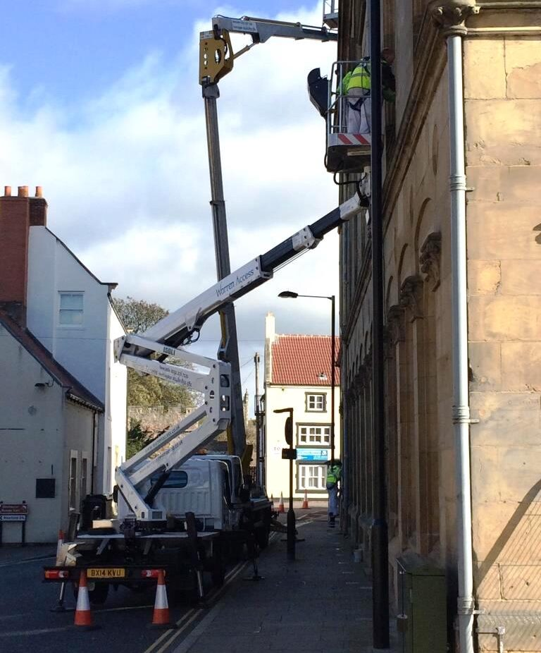 Building Repairs - 23m Isoli 210 JD4 Truck Mounted Access Platform