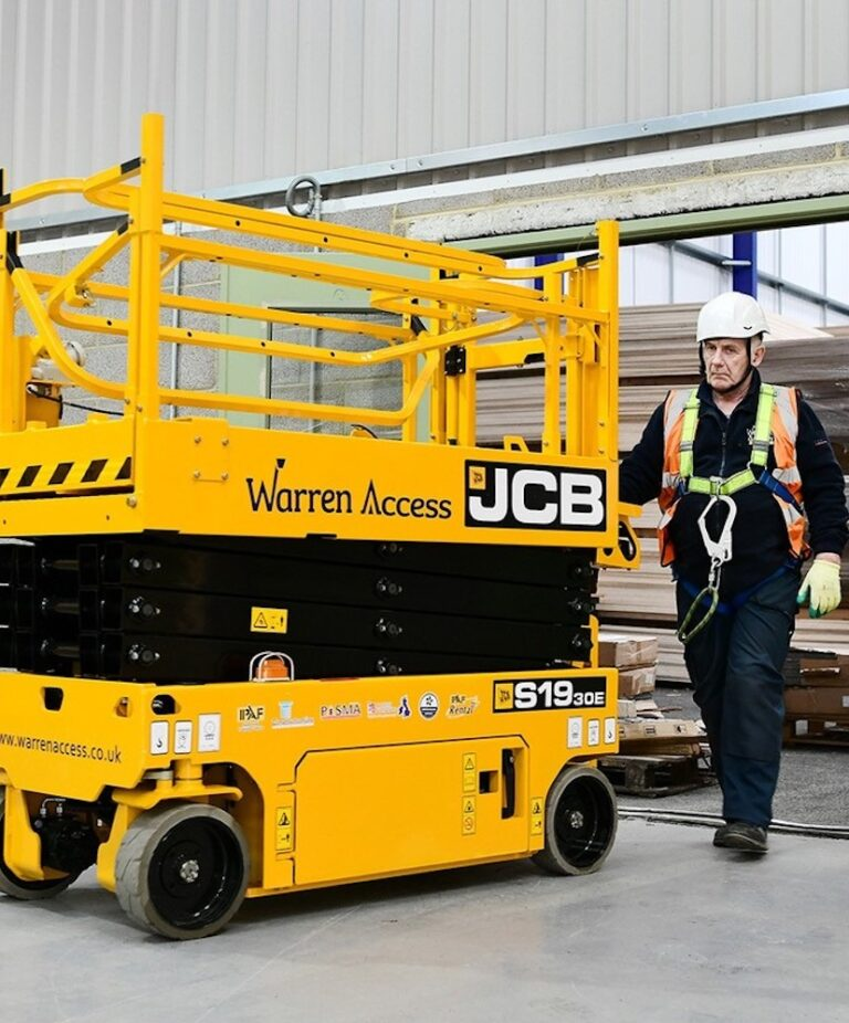 Doorway - JCB S1930 Narrow Electric Scissor Lift
