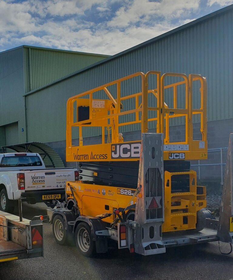 Delivery - 10m JCB 2646E - Electric Scissor Lift