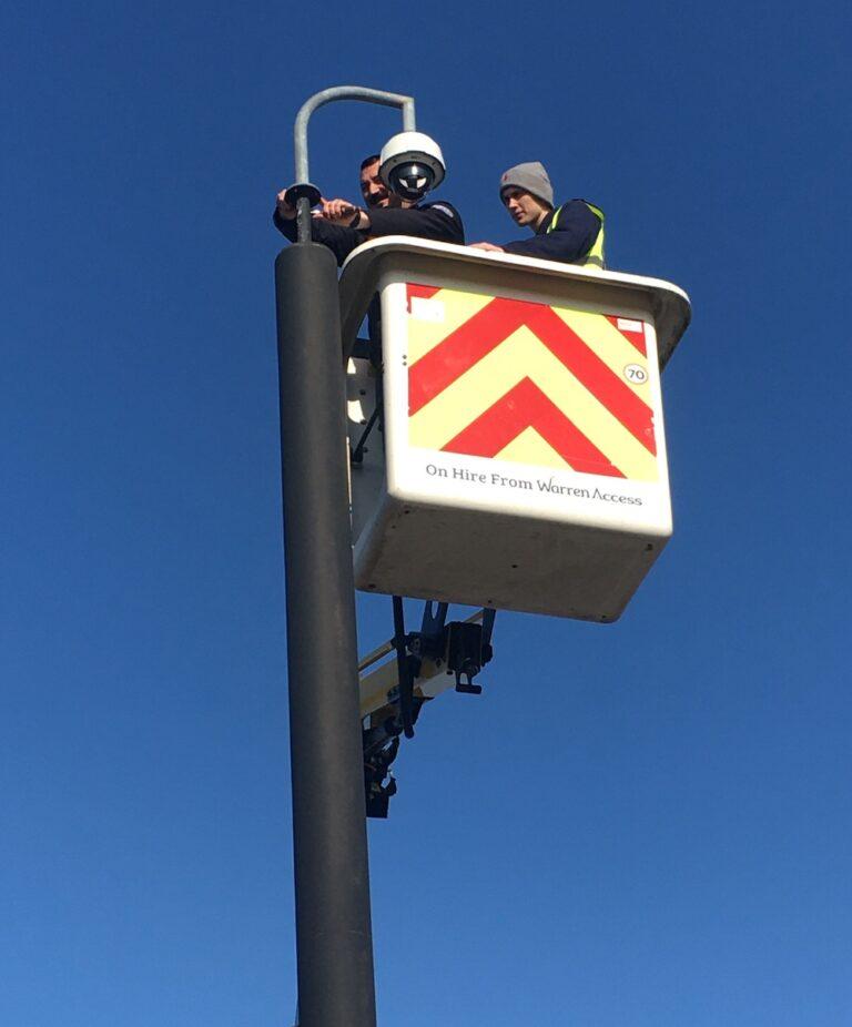 Street Lamps - 13m Versalift Van Mounted Platform