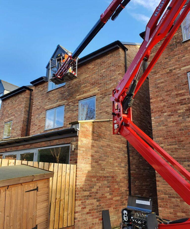 New House Build - Hinowa 1775 Tracked Access Platform