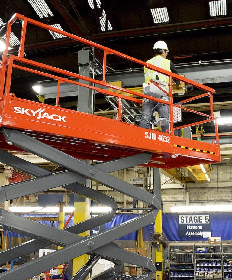 11.6m Skyjack SJIII 4632 - Electric Scissor Lift