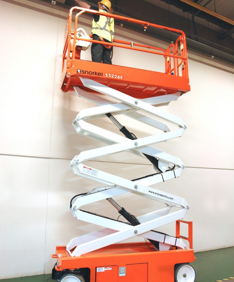 9.9m Snorkel 3226 - Narrow Electric Scissor Lift