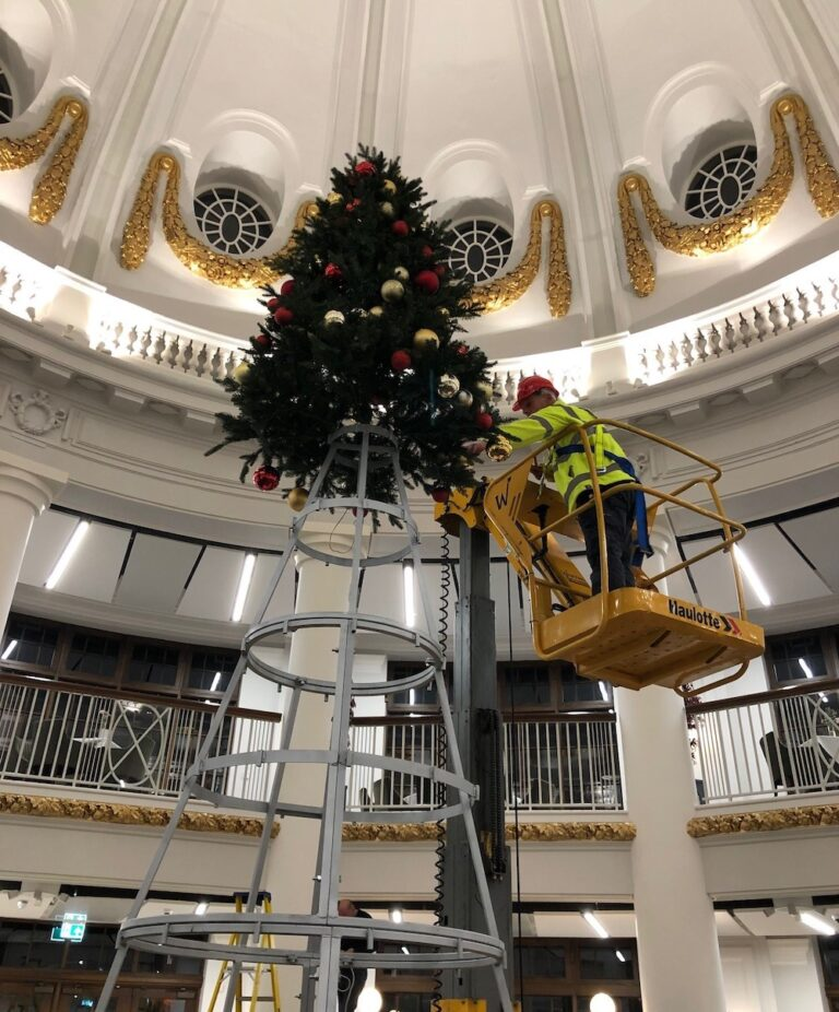 Maintenance Indoor - Star 10 - Electric Vertical Mast Boom Lift