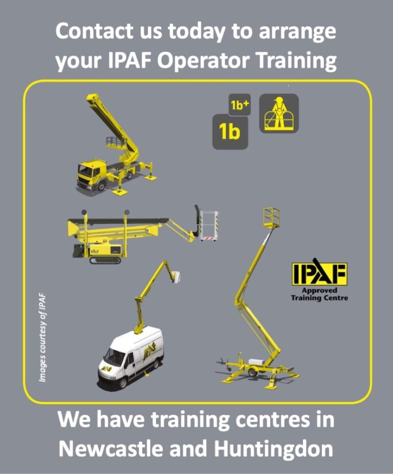 1b Static Boom IPAF Training Categories