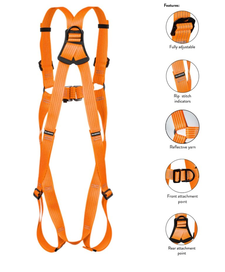 Glow Harness Back + Features