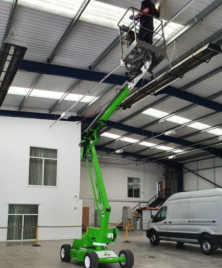 Indoor - 12.2m Niftylift HR12NDE - Narrow Boom Lift