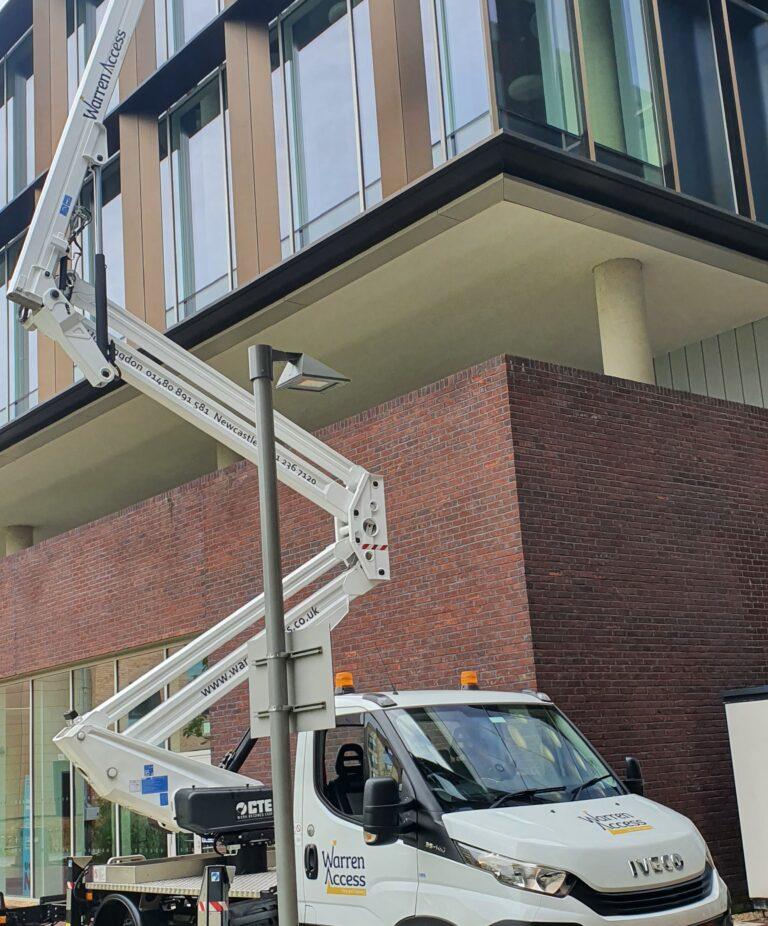 Huntingdon 20m CTE - Building Maintenance at Northampton University