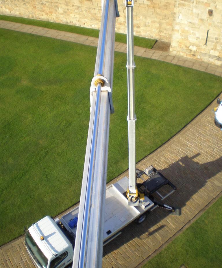High view - 27m Multitel 270 Truck Mounted Platform