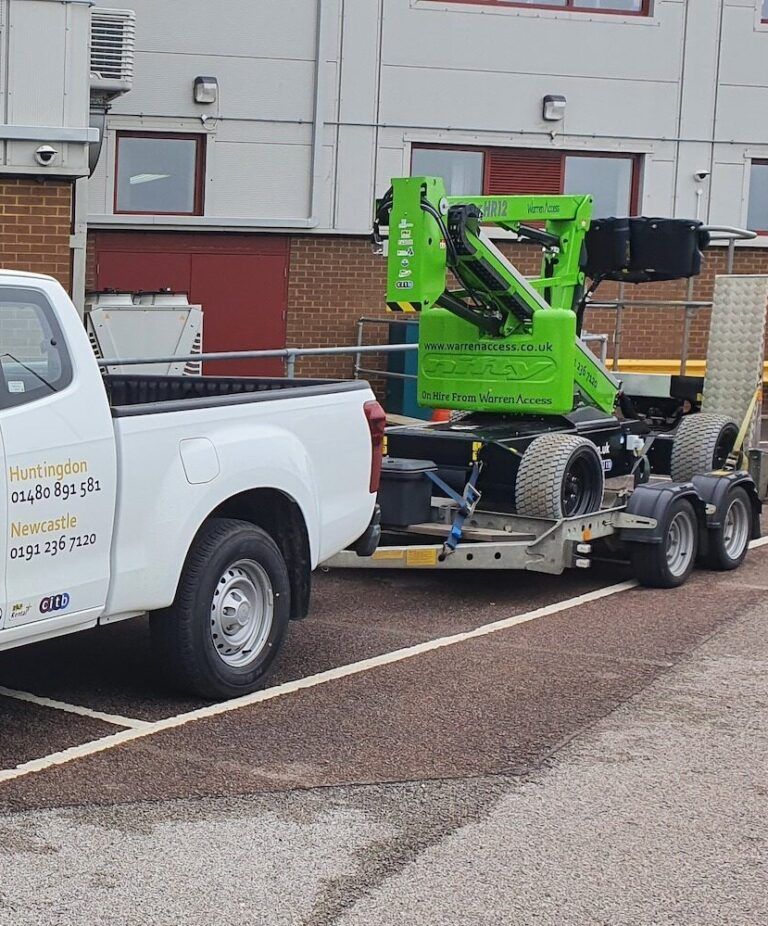 Delivery - 12.1M Niftylift HR12L - Electric Boom