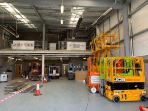 Warren Access Newcastle new premises in Cramlington