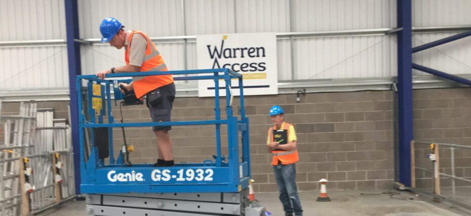Warren Access a work at height training provider