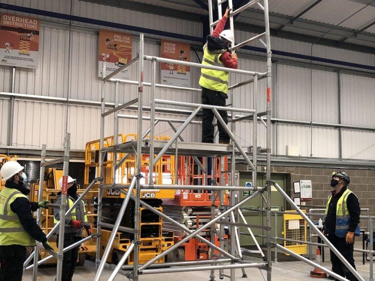 PASMA training - Covid-19 safety measures