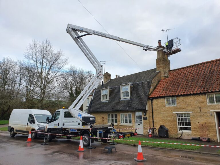 Working safely at height with a MEWP - dos and don'ts when working at height
