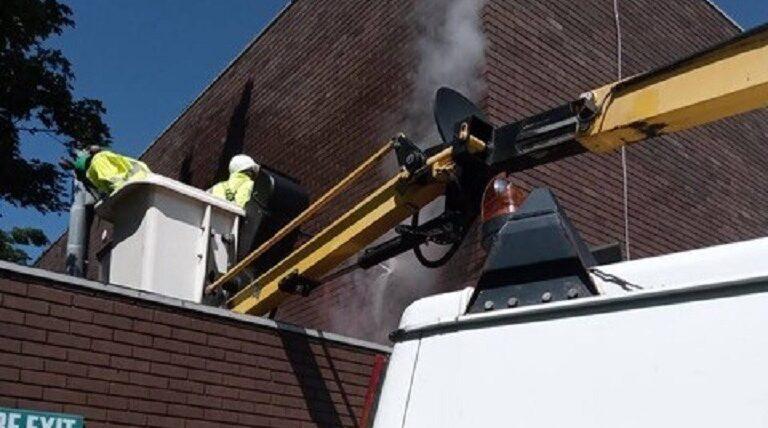 Graffiti removal for Newcastle City Council